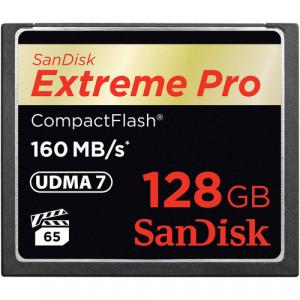 Sandisk 128GB Extreme Pro CF 160MB/s flashminne CompactFlash