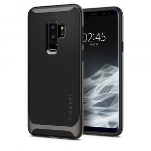 Skal Spigen Galaxy S9+ Case Neo Hybrid Gunmetal