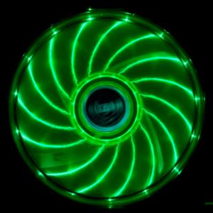 Fläkt Akasa Vegas 120mm LED Grön