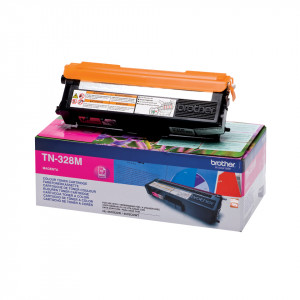 Brother Toner TN-328M 6.000sid Magenta Super High