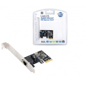 Nätverkskort PCI-E - LogiLink Gigabit nätverkskort