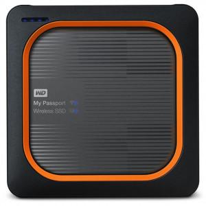 WD My Passport Wireless SSD 500GB WiFi/USB/SD