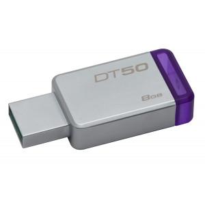 USB minne   - 8GB USB 3.0 - Kingston Metall
