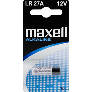 Batteri LR27A - Maxell Alkaline, 12V