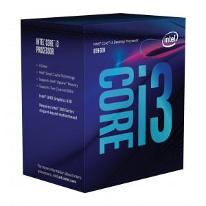 Intel Core ® ™ i3-8100 Processor (6M Cache, 3.60 GHz) 3.6GHz 6MB Smart Cache Låda processorer