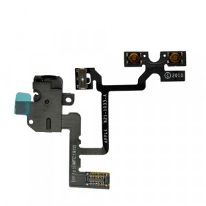 MB Volymflexkabel iPhone 4 svart MB-IP-VKSF-IP4-S 821-1355-A