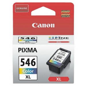 Canon CL-546XL bläckpatroner Cyan, Magenta, Gul