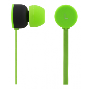 Headset - In-Ear Trasselfri Grön