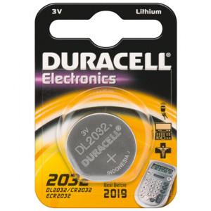 Batteri CR2032 - Duracell Lithium 3V