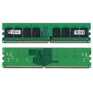 DDR2-533 1GB (2x512MB) - Kingston KVR533D2N4K2/1G.