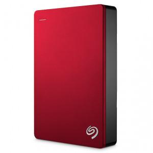Seagate Backup Plus Portable externa hårddiskar 5000 GB Röd