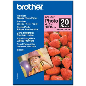 Fotopapper A6 (10x15) 190g Glossy Brother 20st.
