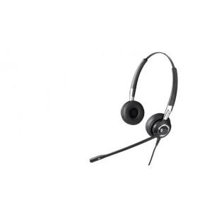 Jabra BIZ 2400 UNC Duo Binaural Huvudband Svart headset