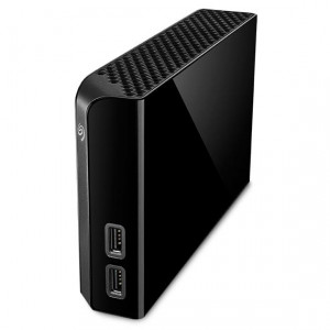 Seagate Backup Plus Hub 4000GB Svart externa hårddiskar