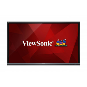 "Viewsonic IFP8650 Digital signage flat panel 86"" LCD 4K Ultra HD Svart signage display"