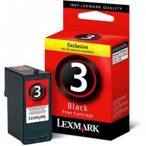 Lexmark 3 Svart Original)bläckpatron 18C1530E