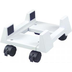 Datorhållare plast 15-26cm bred