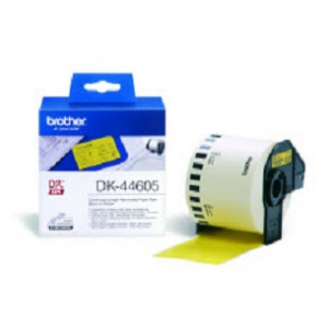 Brother DK-44605 Continuous Removable Yellow Paper Tape (62mm)