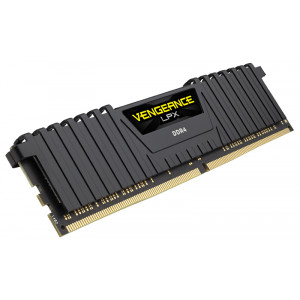 RAM Minne Corsair V LPX 64GB DDR4 Black 4x288, 3000MHz