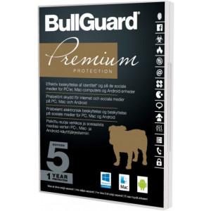 BullGuard Premium Protection 1år 5-Användare