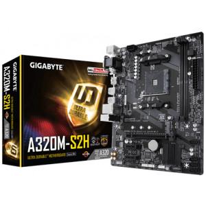 Moderkort -AMD AM4 mATX Gigabyte GA-A320M-H